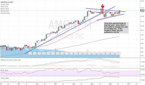 AMGN: AMGN long term view