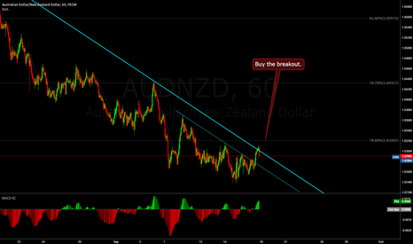AUDNZD: AUDNZD, Long term buy setup.