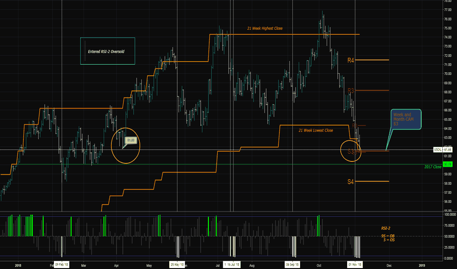 USOIL: Possible oil capitulation and pullback