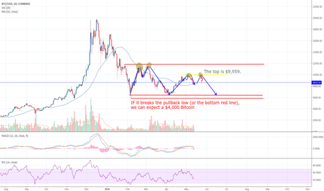 BTCUSD: Bitcoin Double Top...An idea!