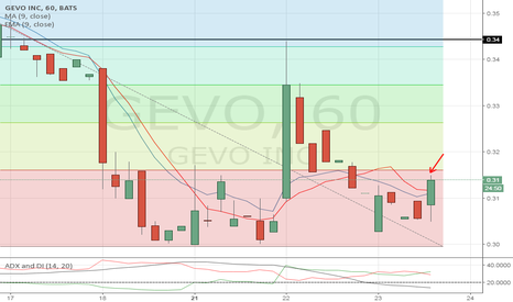 GEVO: Hold, I wouldn't by above .30