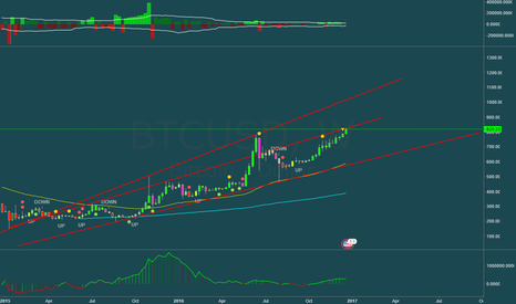 BTCUSD: $1000 or $600:  Moment of truth