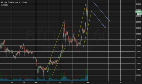 BTCUSD: BTC corrrection in early july