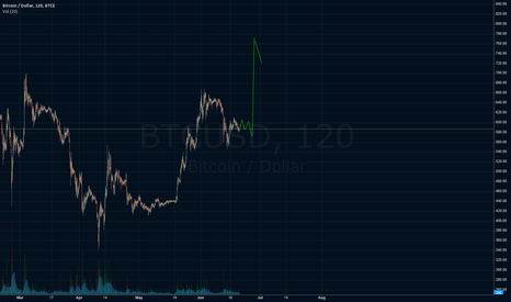 BTCUSD: BTC/USD 780$ high on Auction Day