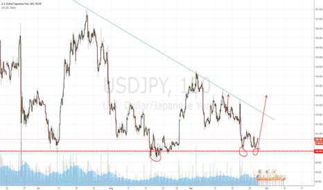 USDJPY: Long position