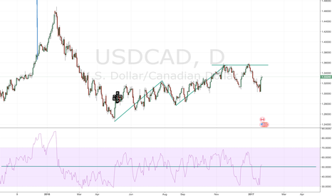 USDCAD: USDCAD Bearish AB=CD w/ RSI