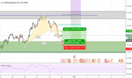 USDJPY: Risky Long Bat