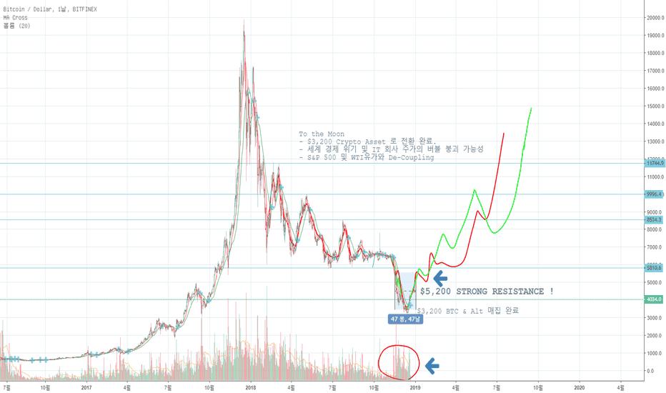 BTCUSD: Bitcoin(BTC) 장기적인 관점에서의 분석