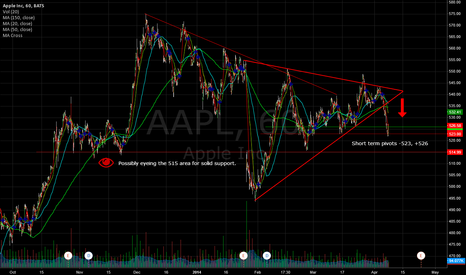 AAPL: AAPL - Looking for more downside in long term.