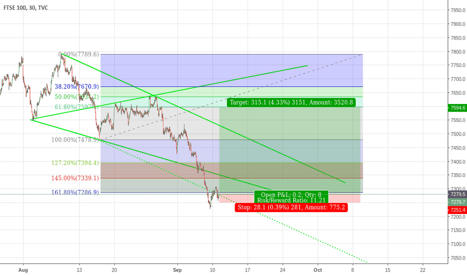UKX: Long WW FTSE100