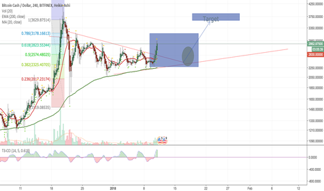 BCHUSD: Continue to be positive but may retest but long term very bullis