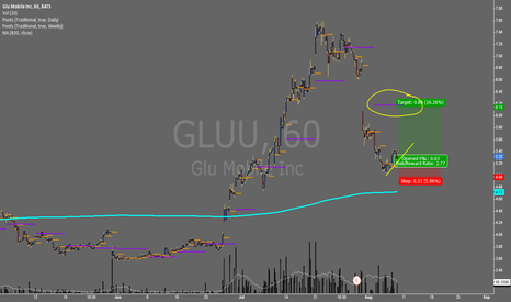 GLUU: GLUU - Dip Buying Action and a Massive Missed Pivot