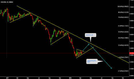 USDCNH: USDCNH Watch for correction