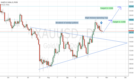 XAUUSD: Gold Mid Term Buy Opportunity