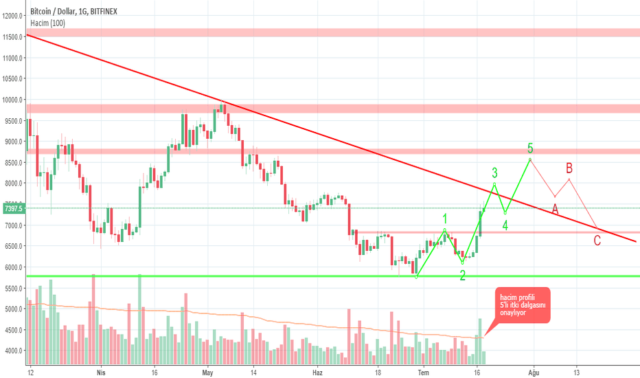 BTCUSD: Btc/Usd Elliot Waves