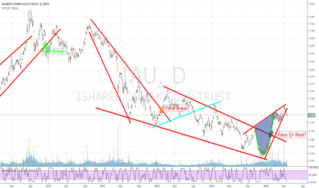 IAU: Fake Break again for GOLD?