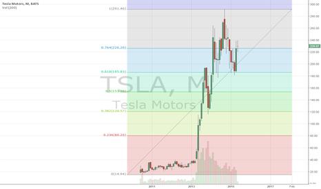 TSLA: Monthly chart