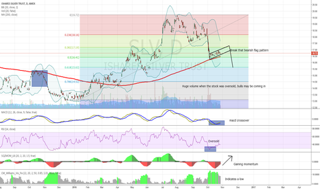 SLV: Possibility of going long with the SLV