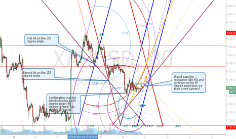 XAUUSD: Gold 30 min view Projection