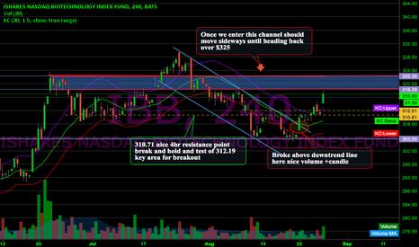 IBB: Trade Idea from 8/22 Last week