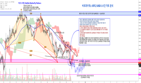 BTCUSD: 비트파이넥스(Bitfinex) BTC/USD 한 시간 차트