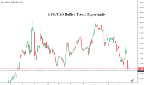 EURUSD: EUR/USD Bullish Opportunity