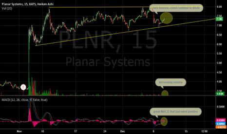 PLNR: plnr to go up