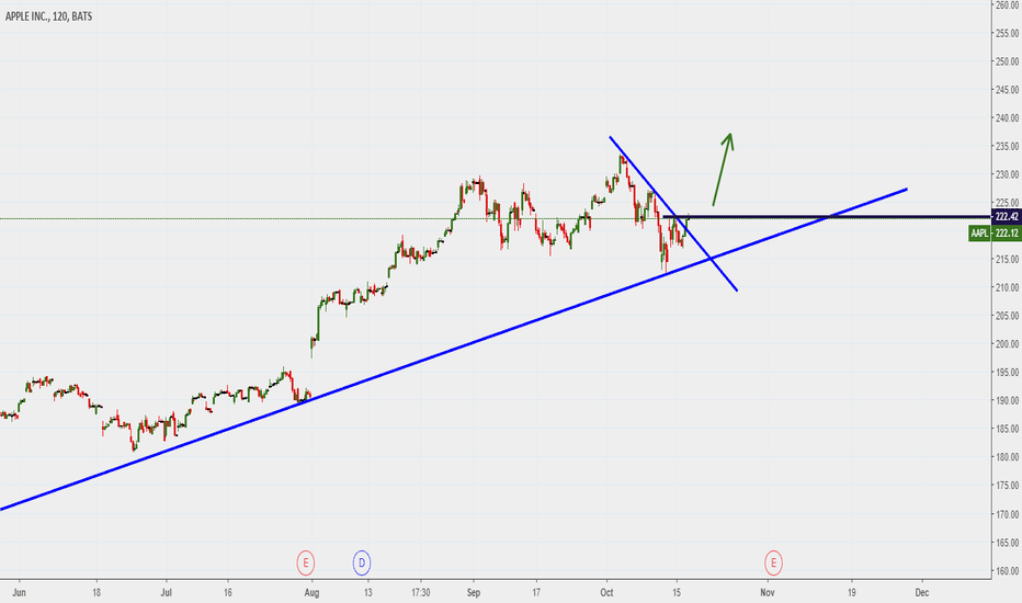 AAPL: APPLE ...possible rising after breakout