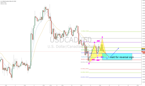 USDCAD: USDCAD hourly cypher pattern and 2618 combination