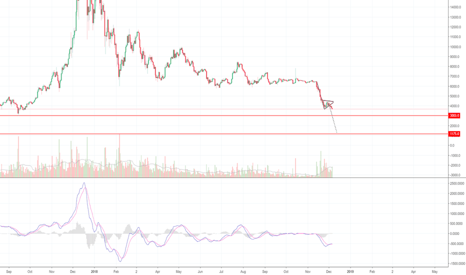 BTCUSD: A Future Collapse in Bitcoin's Network, Plus $1175 in The Cards!