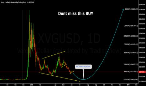 XVGUSD: XVGUSD Dont miss this Buy