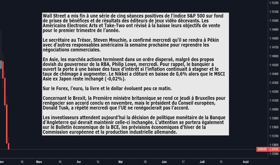 EURUSD: Briefing de l'actualité du 07.02.19