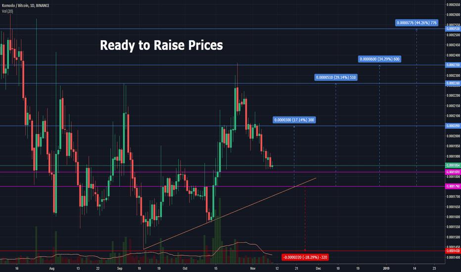KMDBTC: Ready to Raise Prices