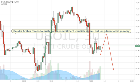 "USOIL: Saudi Arabia reminds OPEC is a ""team game"""