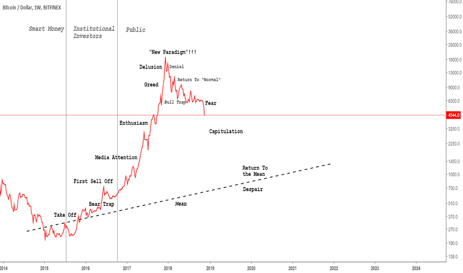 BTCUSD: Bitcoin May Be Following This Classic Bubble Stages Chart