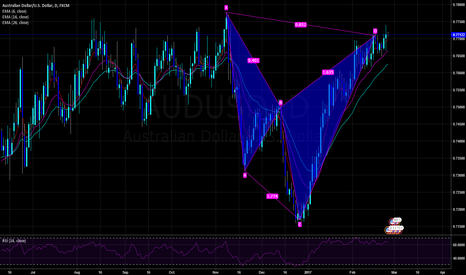 AUDUSD: AU Daily Cypher