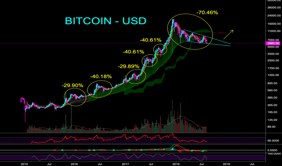 BTCUSD: ZOOM OUT - THIS IS JUST A SHAKE OUT - CryptoManiac101