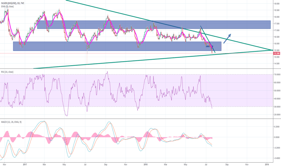 SILVER: Daily Silver analysis