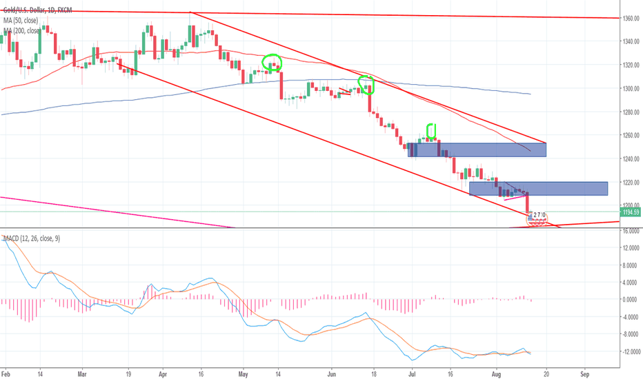XAUUSD: Ready for a rebound? Or is it a gold recovery?