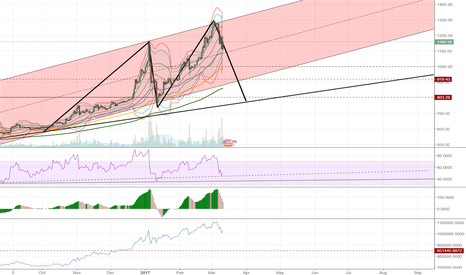 BTCUSD: Think BTC needs to take a break and consolidate at a lower level