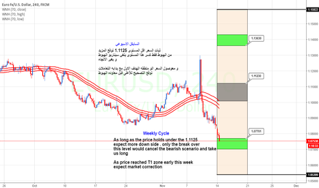EURUSD: Eur Weekly Cycle