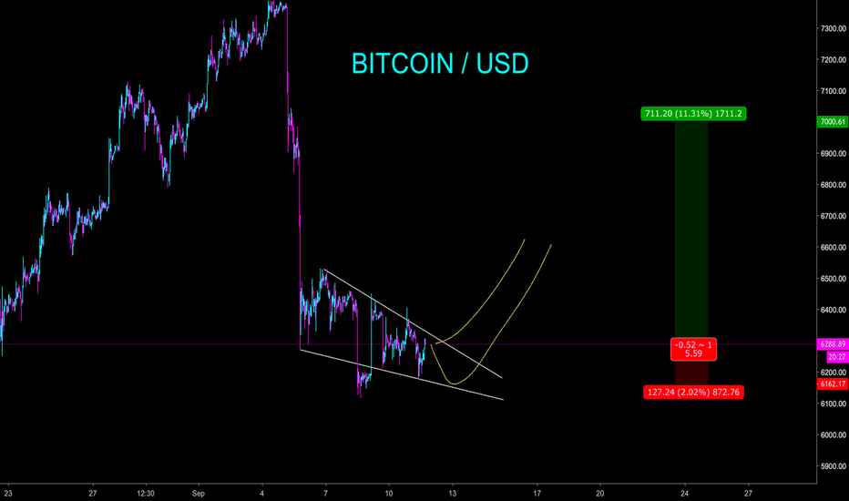 BTCUSD: BITCOIN IN GOOD ODDS FOR MINI BULL - CryptoManiac101
