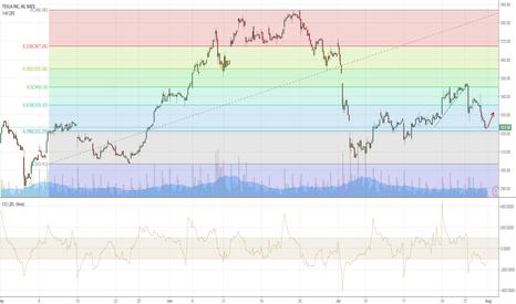 TSLA: $TSLA - Short term swing trade