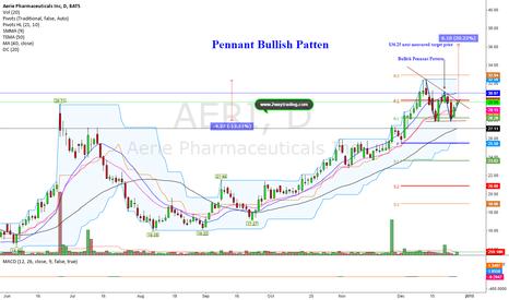 AERI: Bullish Pennant Pattern