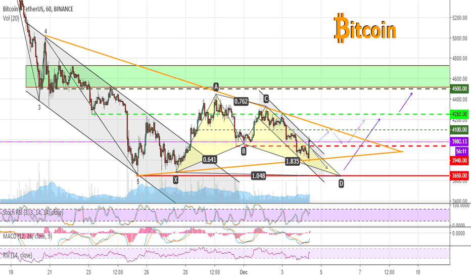 BTCUSDT: Bitcoin is trying to come back higher