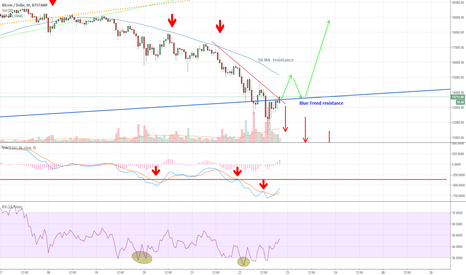 BTCUSD: Moment of Truth? Bear or bull?
