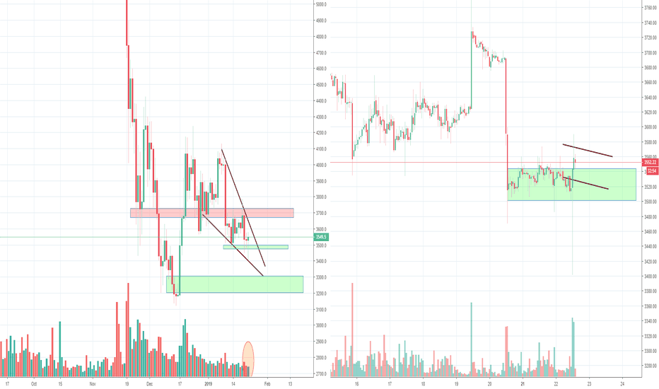 BTCUSD: Bitcoin Trying to make a Daily Reversal after a Bear trap?