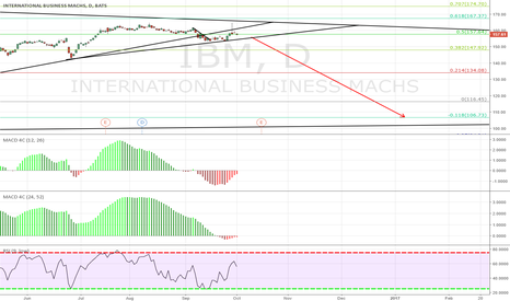 IBM: IBM Long Term Sell Setup