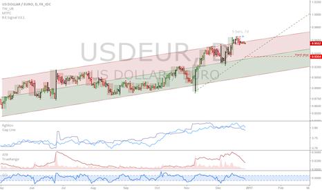 USDEUR: USDEUR: Short the Euro every day, for 1 week