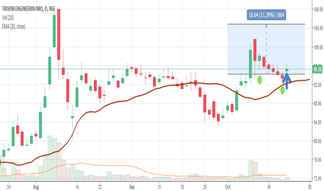 TRIVENI: Buy Triveni  Engineering with the target of Rs 105.